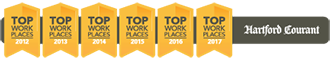 Norcom has been voted one of the Hartford Courant's Top Workplaces for 6 years running
